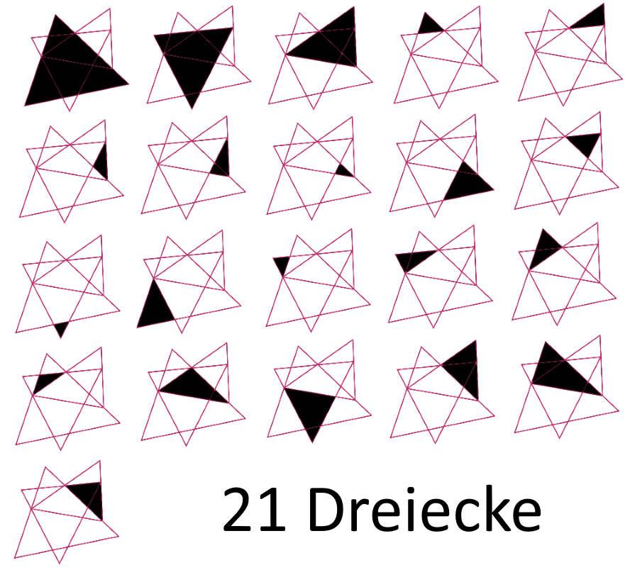 Dreiecke-Lösung
