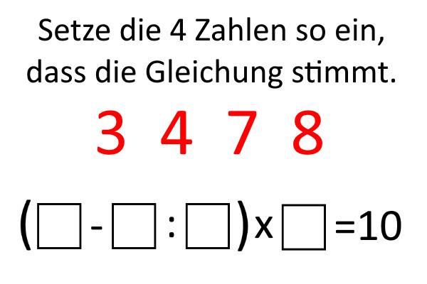 Zahlenspielerei